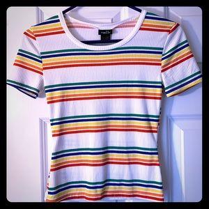 Rainbow Striped Shirt Rue 21